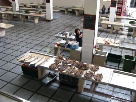 Fischmarkt - Markthalle Mercado dos Lavradores