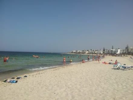 Sandy beach -