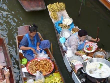 Damnoen Saduak - Schwimmender Markt - Schwimmende Märkte / Floating Market / Damnoen Saduak