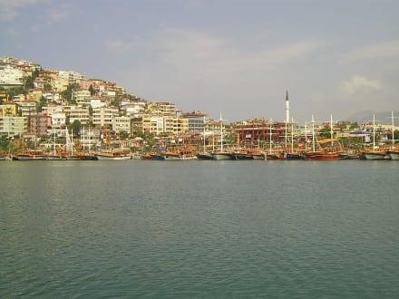 Der Hafen von Alanya - Hafen Alanya