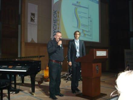 Axel Jockwer während der Preisverleihung - HolidayCheck Award Gala