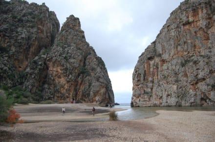 Ausgang - Bucht Sa Calobra / Torrent de Pareis