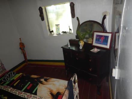 Der Schlafraum von Bob Marley - Bob Marley Geburtshaus & Mausoleum