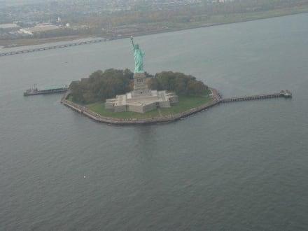 Freiheitsstatur - Helikopter-Rundflug New York
