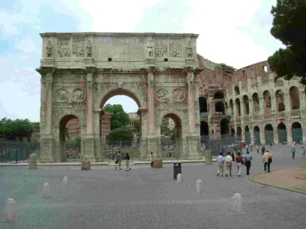 Arco di Constantino (Triumphbogen des Konstantin) - Konstantinsbogen