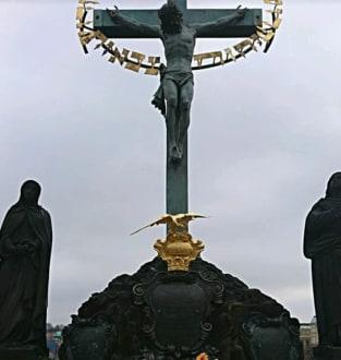 Jesus. - Karlsbrücke