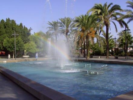 Brunnenanlage mit Musik - Strandpromenade San Antonio/San Antoni de Portmany