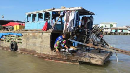Selbsterklärend - Schwimmender Markt von Cai Rang