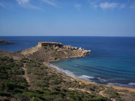 Ghajn tuffieha Bay - Strand Golden Bay