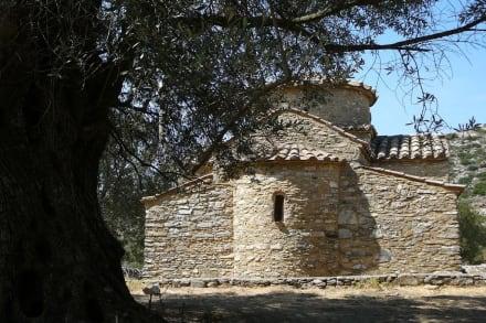 Nochmals die Aussenseite - Kapelle Diosoritis