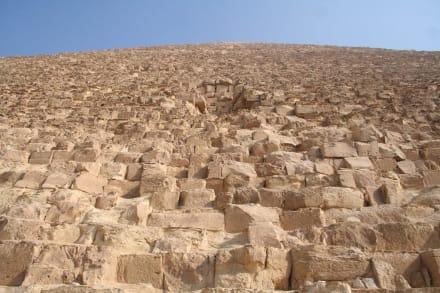 Gizeh, Cheops-Pyramide - Pyramiden von Gizeh