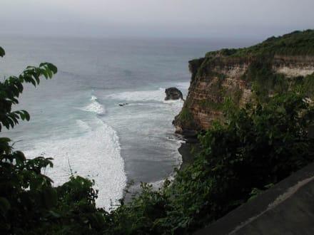 Steilküste im äusstern Süden Balis! - Uluwatu Tempel
