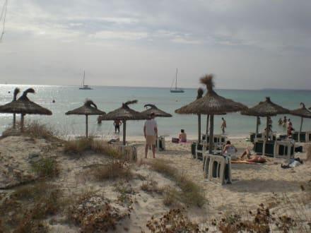 Der Strand von Es Trenc - Platja Es Trenc