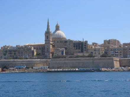 Eindrücke auf der Hafenrundfahrt in Valetta - Hafenrundfahrt Valletta