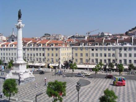 Lissabon, Rossio - Rossio / Praça de D. Pedro IV