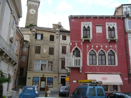Platz in Piran - Altstadt Piran