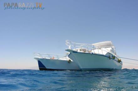 Tubya Island Ankerplatz - Windsurfschule Vasco Renna