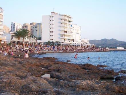 Sonnenuntergang am Cafe del Mar - Cafe del Mar