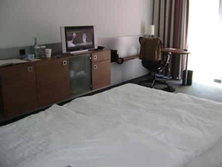 Alles vorhanden - Hotel Hilton Garden Inn Stuttgart NeckarPark