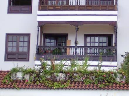 Baustil auf den Canaren - Altstadt Puerto de la Cruz