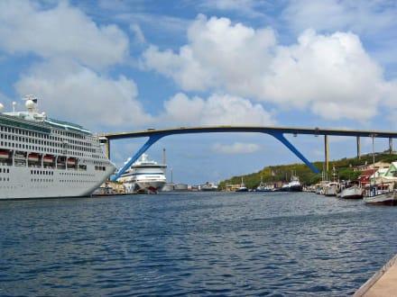 Willemstad-Hafen-Curacao - Zentrum Willemstad