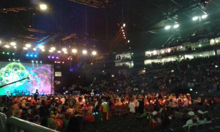Tolle Stimmung in der Halle - Lanxess Arena Köln