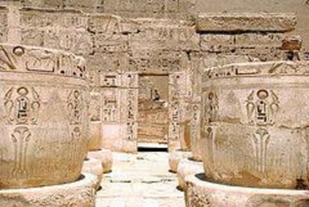 Habu Tempel - Geführte Touren Karim Tours Hurghada