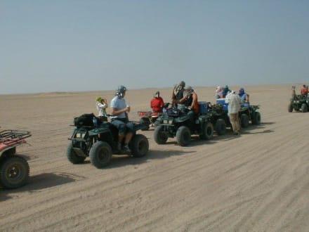 Ausflug von Jacky und Ingo - Quad Tour Hurghada