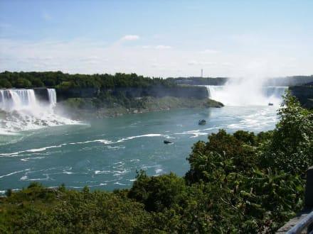 Fälle in 2 Ländern - Niagarafälle / Horseshoe Falls