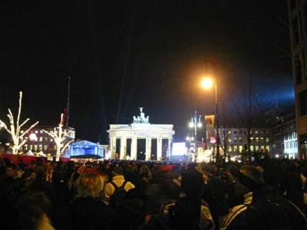 Silvesterparty 2003 Berlin - Brandenburger Tor