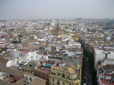 Sevilla von der Giraldar aus - Kathedrale von Sevilla