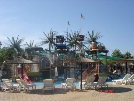Aqualand bestens geeignet für Familien - Aqualand