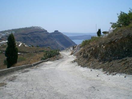 Kraterrandwanderung Fira-Oia - Kraterwanderung Thira