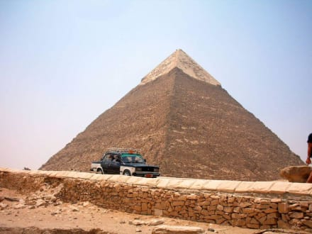 Taxi - Pyramiden von Gizeh