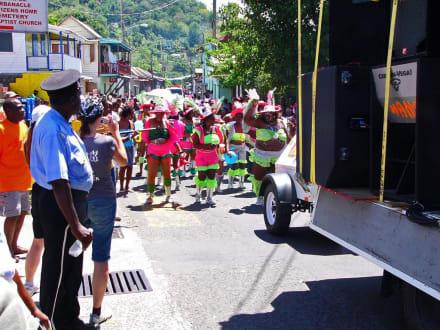 Carneval auf Dominica - Karneval Roseau