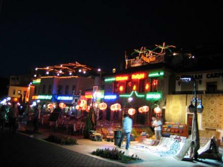 Altstadt von Marmaris bei Nacht - Yachthafen Marmaris