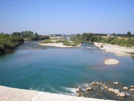 Blick von der Brücke - Aspendosbrücke