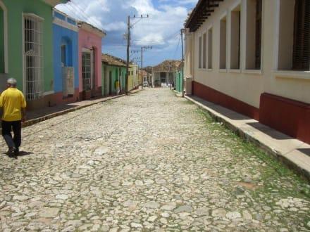Alte Gasse in Trinidad - Altstadt Trinidad