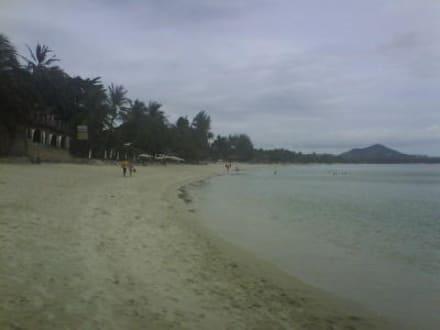 Strandabschnitt in Richtung Norden - Chaweng Beach