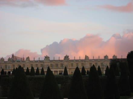 Abenstimmung über dem Schloß - Schloß Versailles