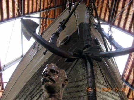 Der Anker der Fram - Fram Museum