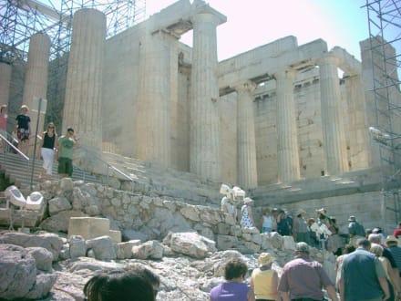 Die Propyläen- Eingangstor zur Akropolis - Akropolis