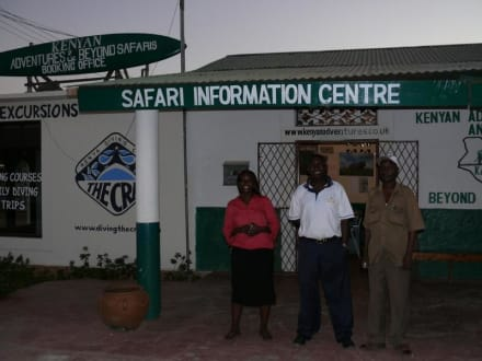 Büro von KABS an der Diani Beach - Geführte Touren Kenyan Adventures & Beyond Safaris Diani Beach