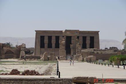 Hathor - Tempel - Hathor Tempel Dendera