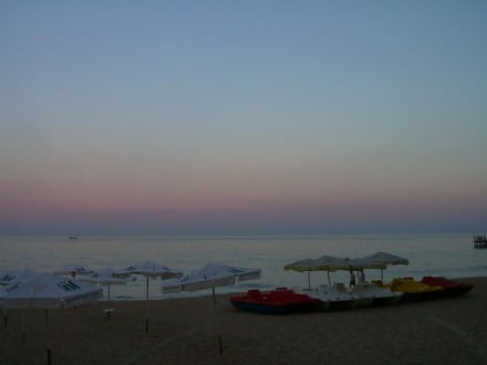 Sonnenuntergang am Goldstrand - Strand Goldstrand