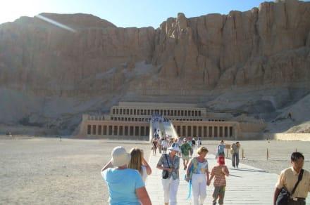 Hatschepsut Tempel bei Luxor - Tempel der Hatschepsut