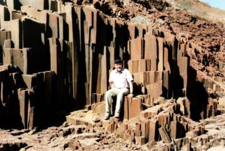 Basaltsäulen - Orgelpfeifen