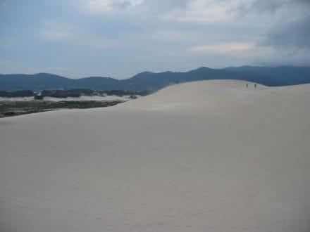 Riesige Sanddünen - Strand Joaquina