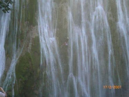 Wasserfall - Wasserfall Saltos de Limon