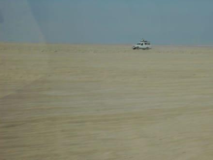 Auf den Weg - Jeep Safari Hurghada